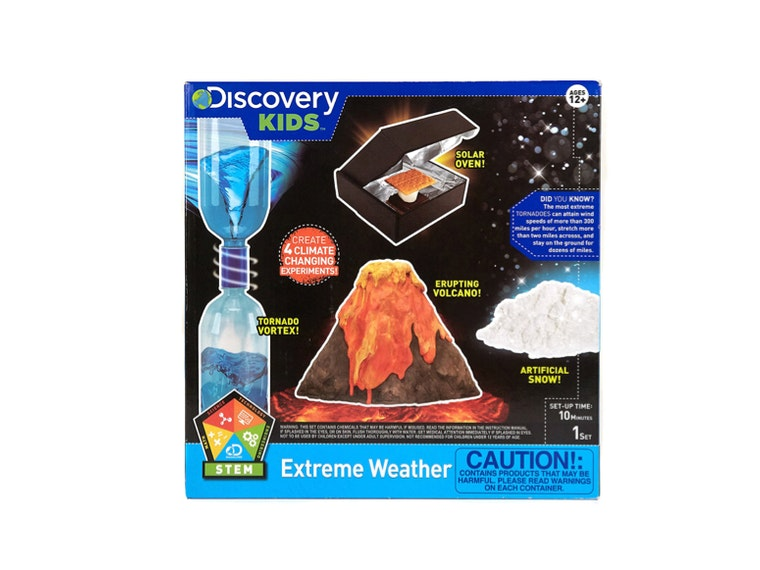 This science kit for kids that love crazy weather 🌪️🌋🌨️