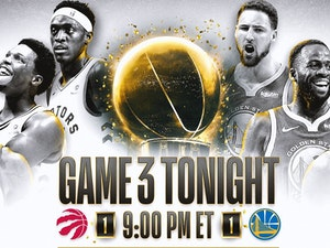 Toronto Raptors vs. Golden State Warriors: Here's Where You Can Stream Game 3 of the NBA Finals