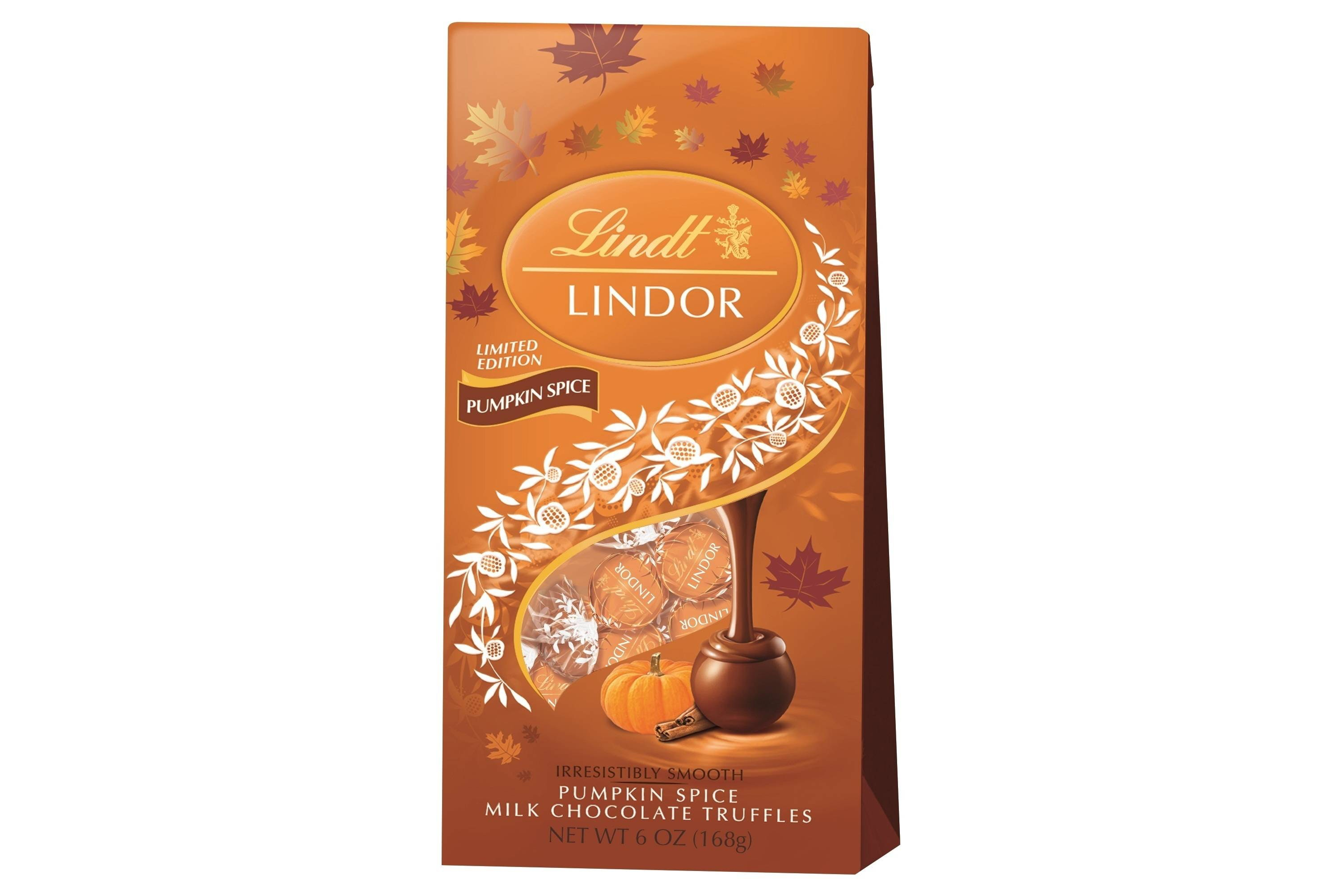 This truly luxurious pumpkin spice treat for chocoholics