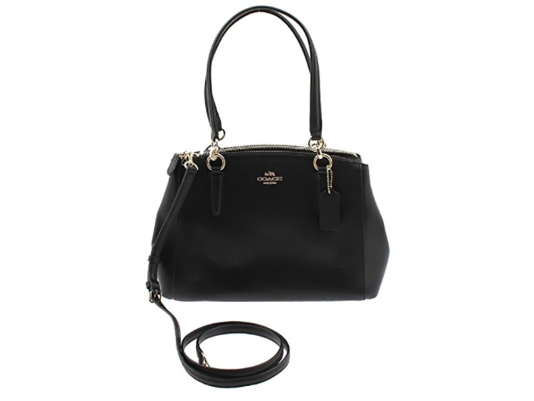 This timeless crossgrain leather bag from Coach