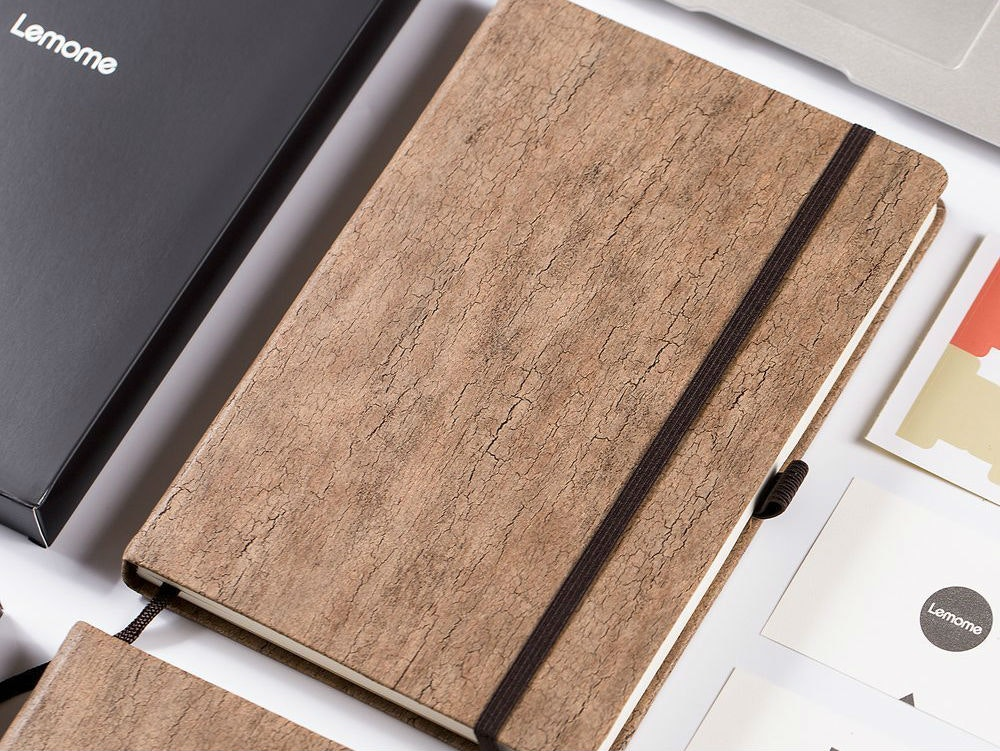 This natural notebook that's as useful as it is fun to look at