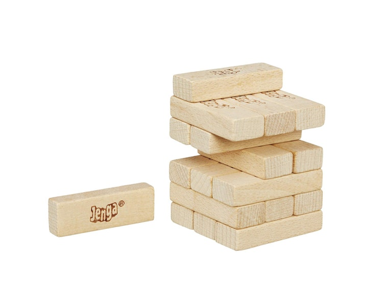 This miniature game of Jenga