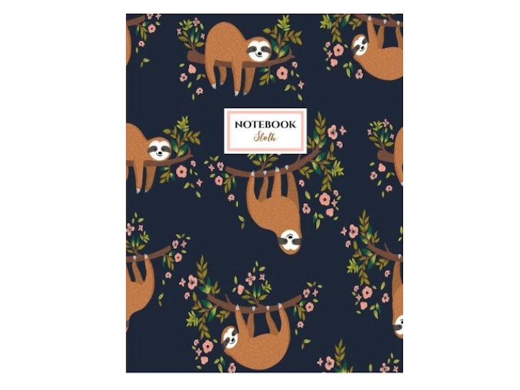 This sloth notebook