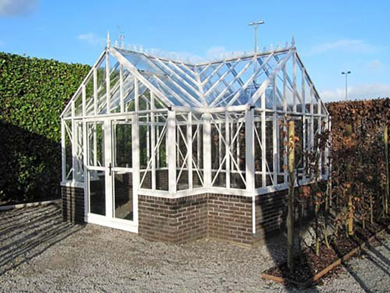 This $15,000 Victorian glass greenhouse