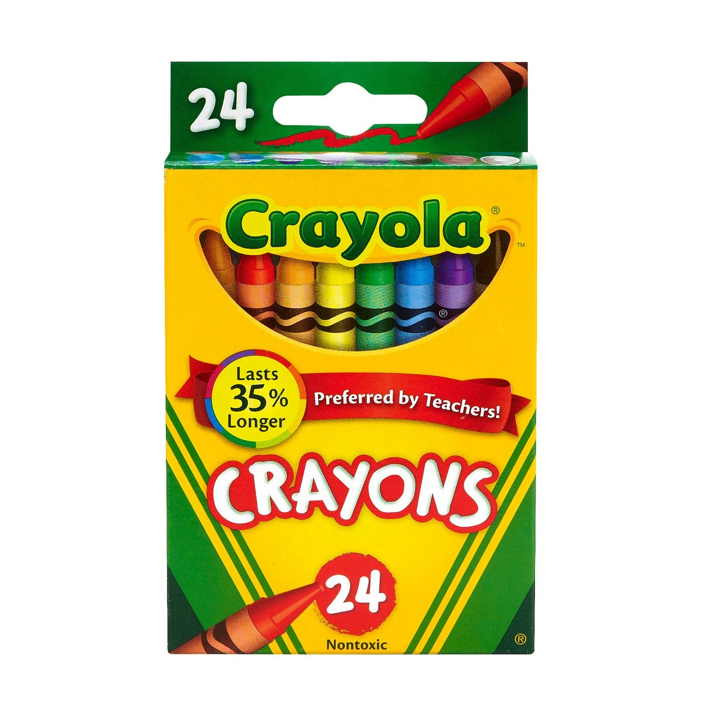 This set of classic Crayola crayons