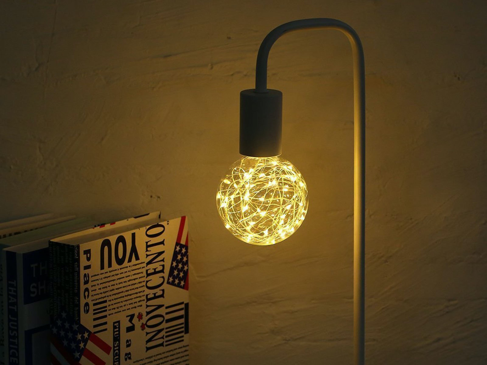 This beautifully complicated retro lightbulb