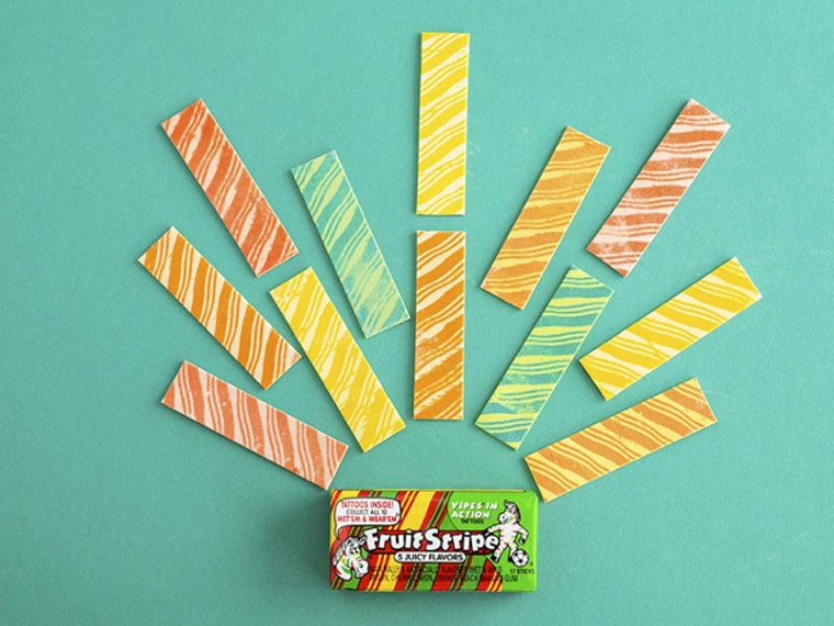 Yipes! Stripes! It's Fruit Stripes Gum! 🌈