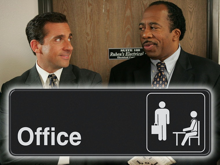 This sign for fans of The Office