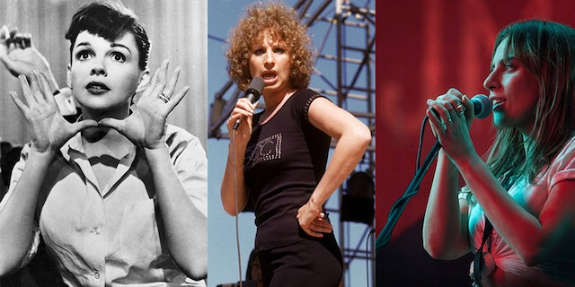Which Star Is the Best at Being Born: Lady Gaga, Judy Garland or Barbra Streisand?