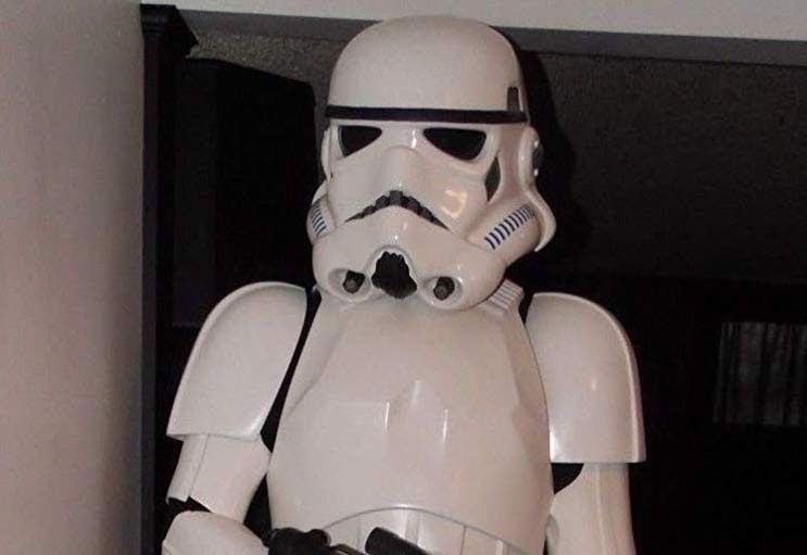 This life-size stormtrooper is the gift you're looking for