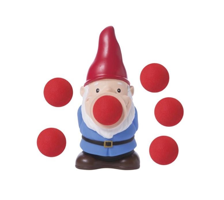 This ball-firing gnome
