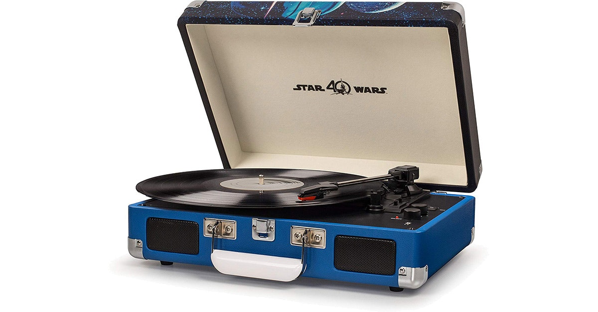 This Star Wars-themed Bluetooth turntable