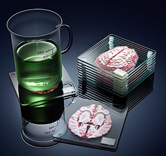 These coasters that make you think