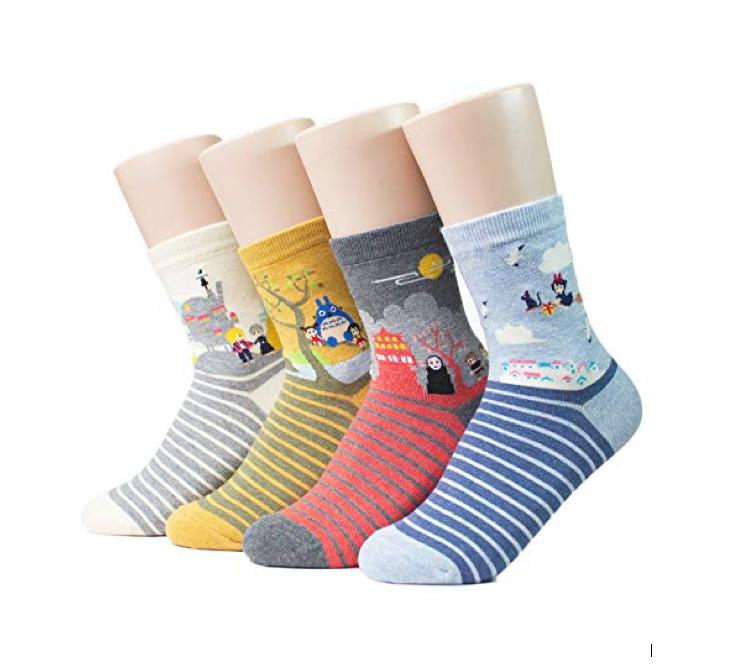 These super-adorable Miyazaki socks