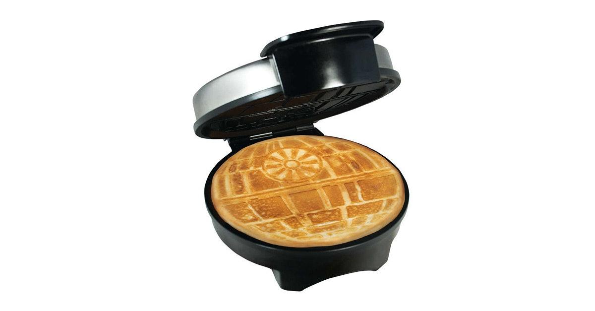 ThisDeath Star waffle maker