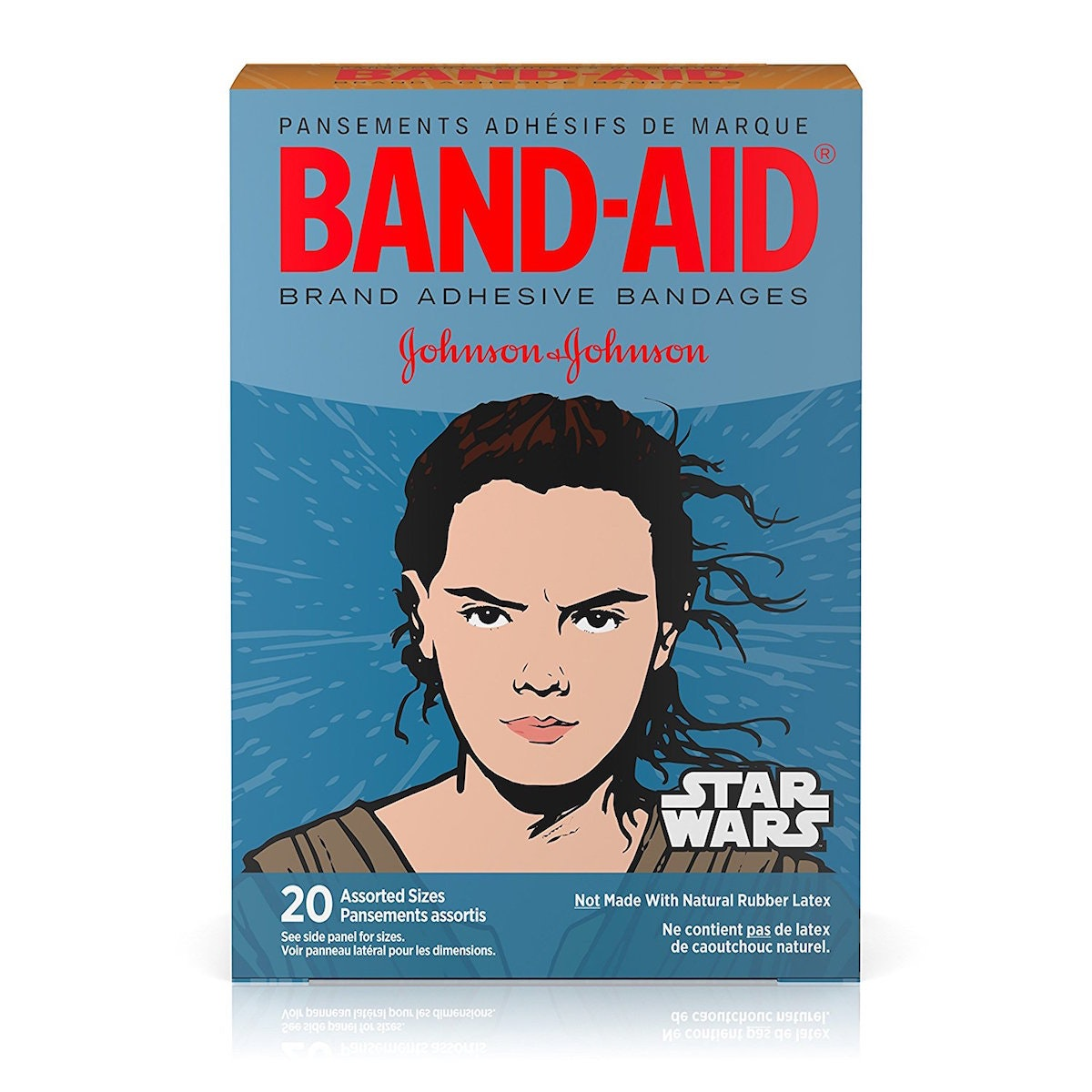 Star Wars character bandages for your post-battle ouchies