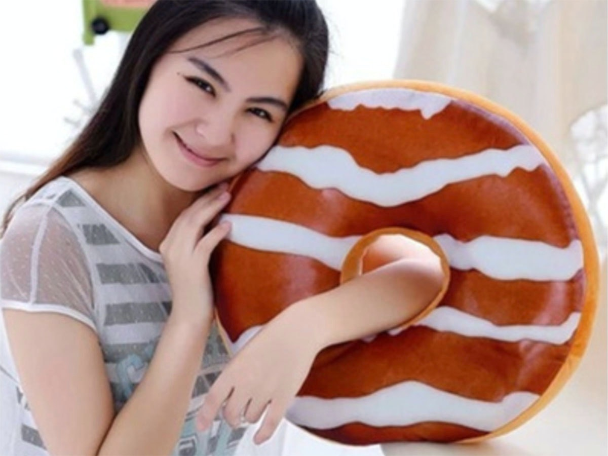 This taste-tempting donut that's actually a pillowcase