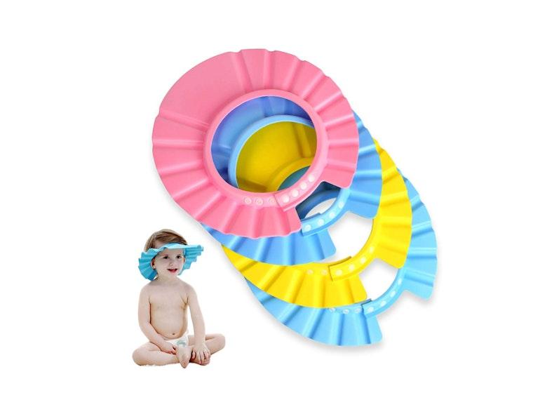 This colorful visor for bathtime🛀