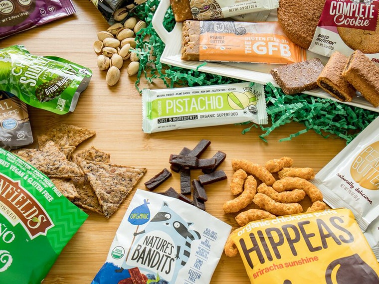 These amazing and delicious vegan snacks 🐰