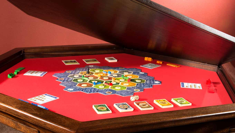 This stunning custom gaming table