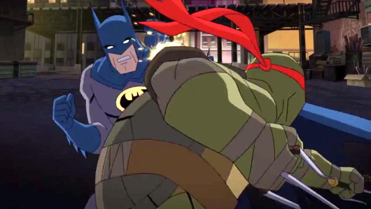 Teenage Mutant Ninja Turtles and Batman: Here's What People Are Saying Today