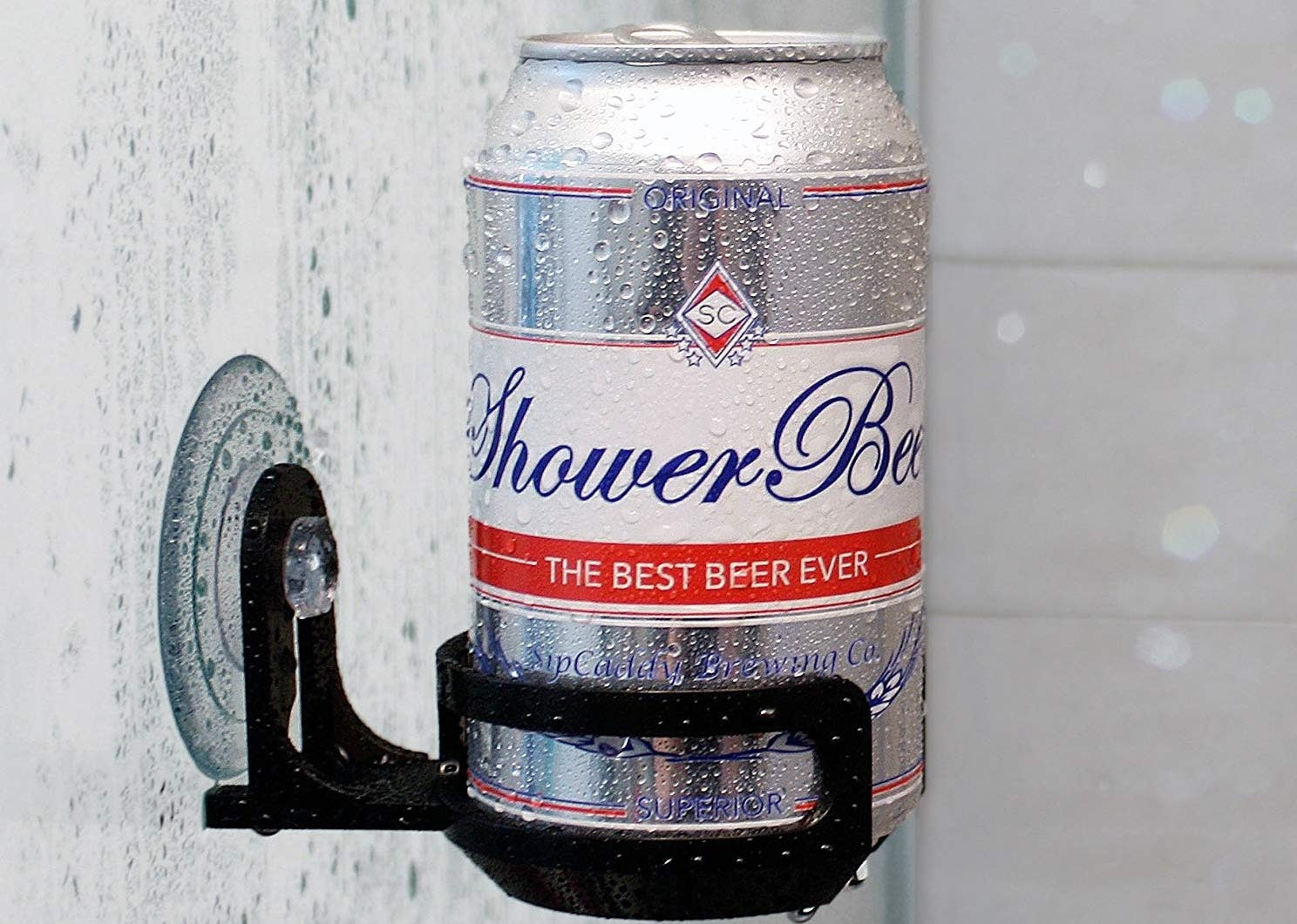 A safe place for your shower beer