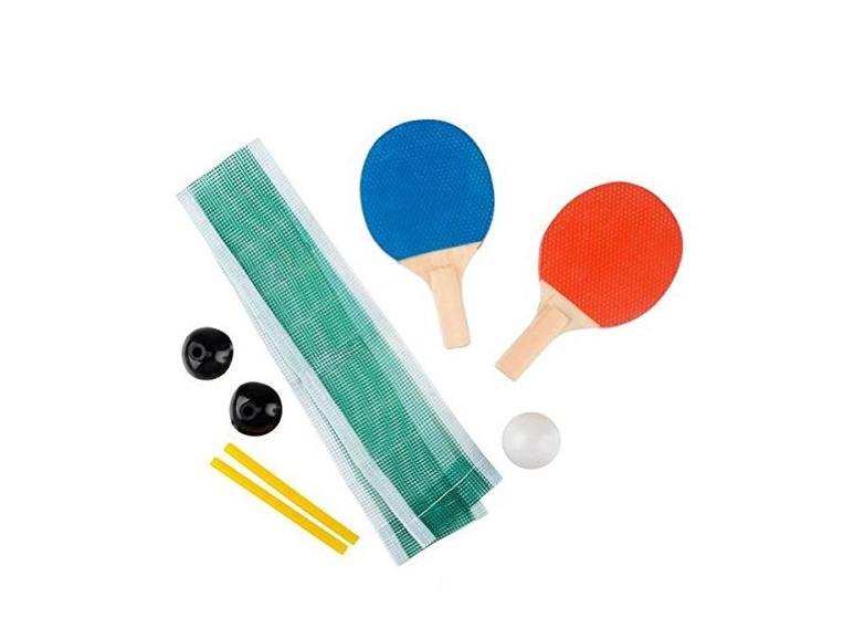 This kit that turns any table into a ping pong table 🏓