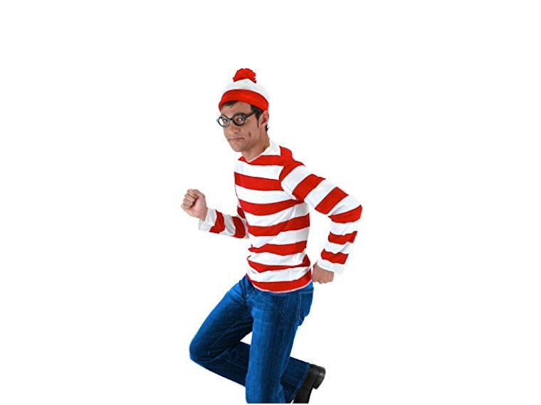 This Waldo costume that'll make you really hard to spot