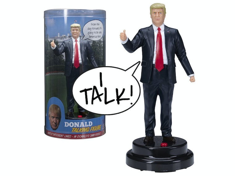 This talking Trump toy that will make any space great again