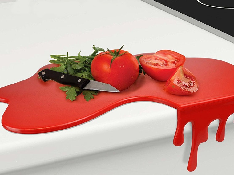This bloody useful cutting board