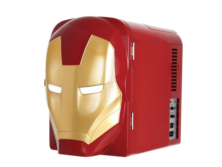 This amazing Iron Man mini fridge
