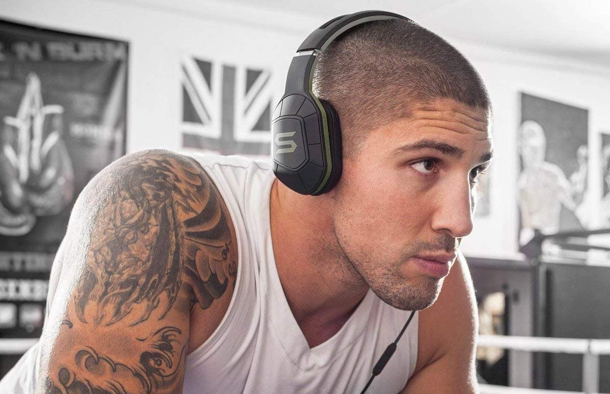 Premium on-ear headphones for intense workouts