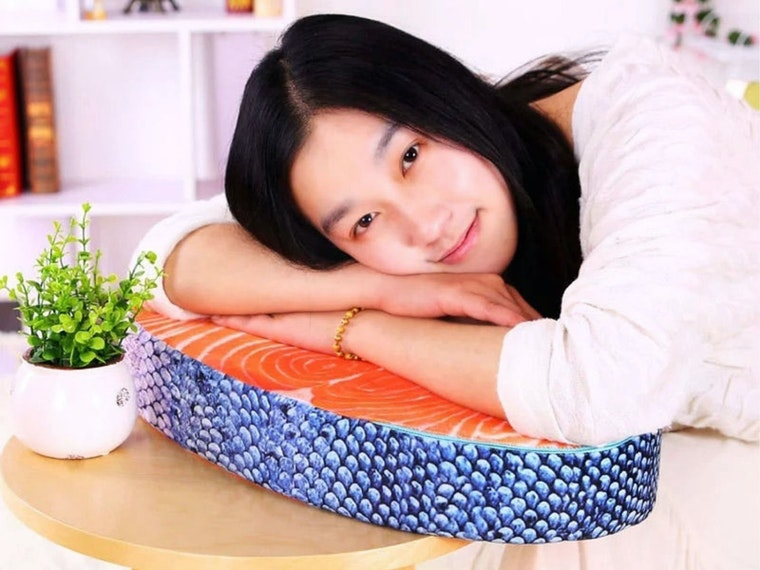 The weirdest (and mostmouth-watering) pillow you'll ever own