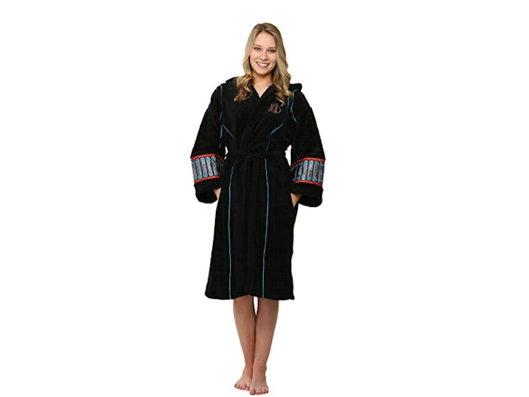 This cozy robe fit for a spy 🕷
