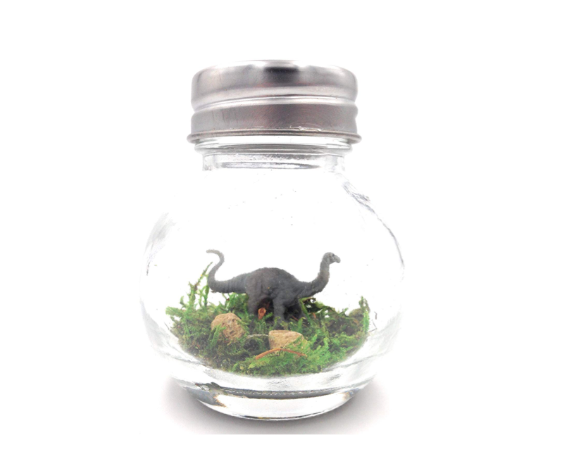 This tiny friend in a bottle