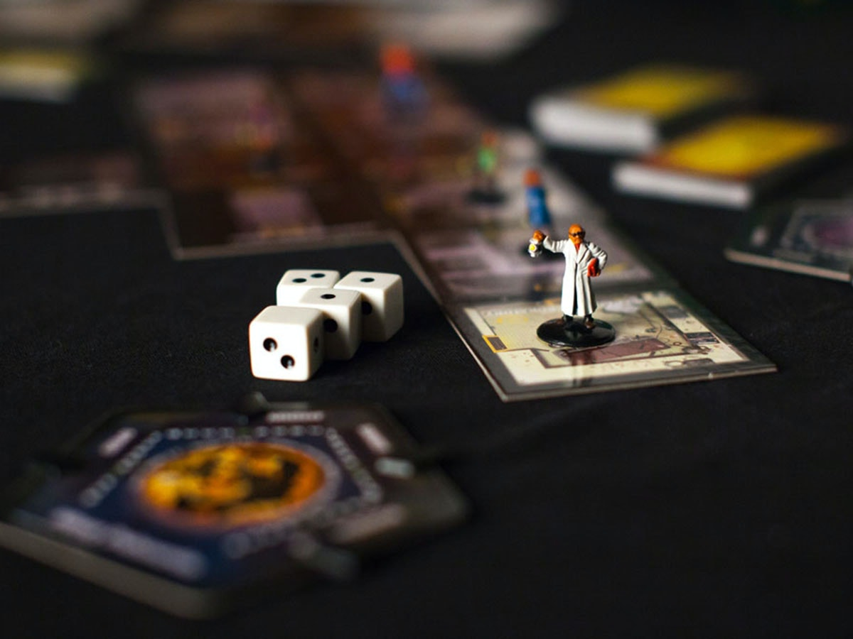This board game that'slike living out a horror movie