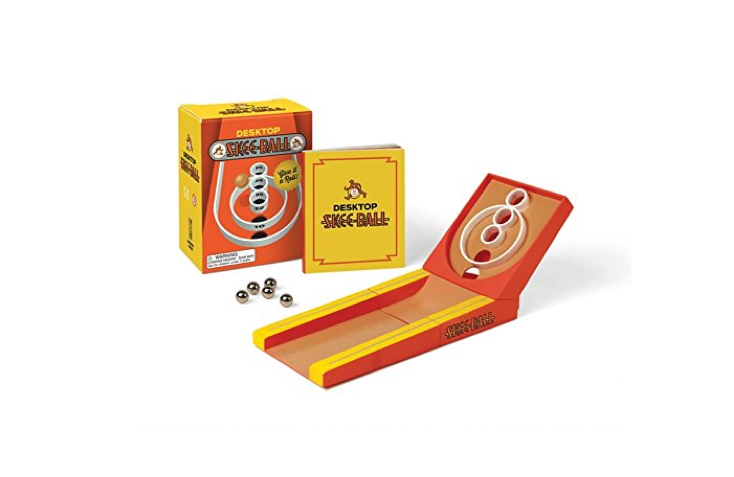Your very own mini-Skeeball game! 🎪