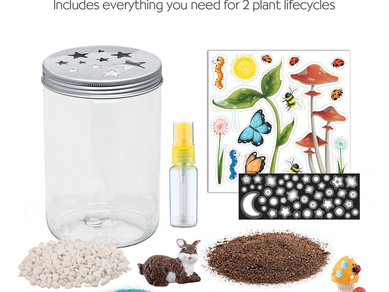 This terrarrium kit for kids with tiny green thumbs