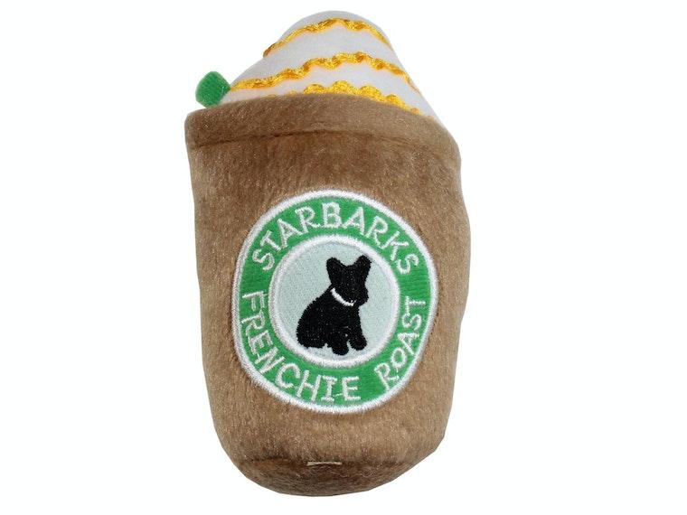 This venti-sized Starbucks dog chew