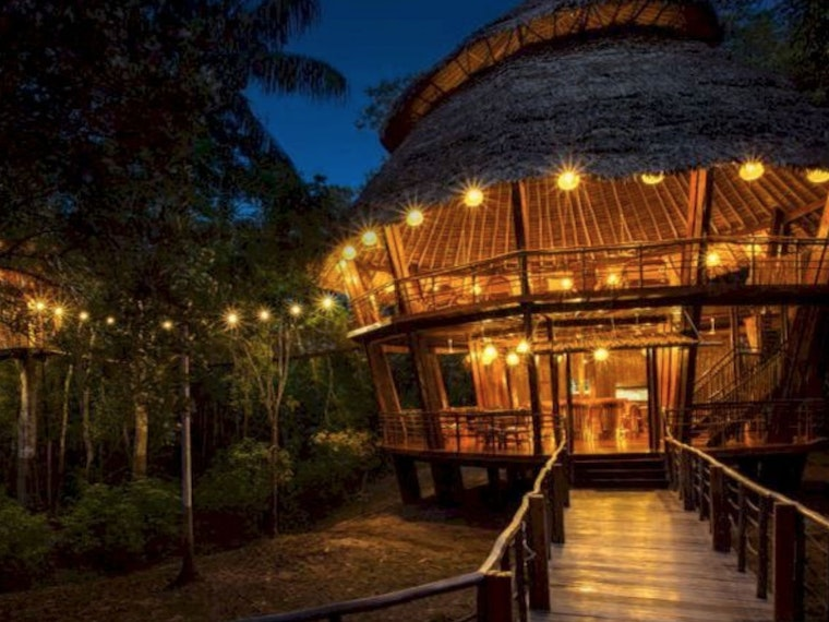 This amazing treehouse hotel in Peru