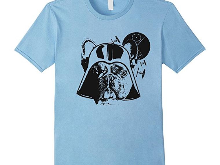 Thisbulldog shirt for Star Wars geeks