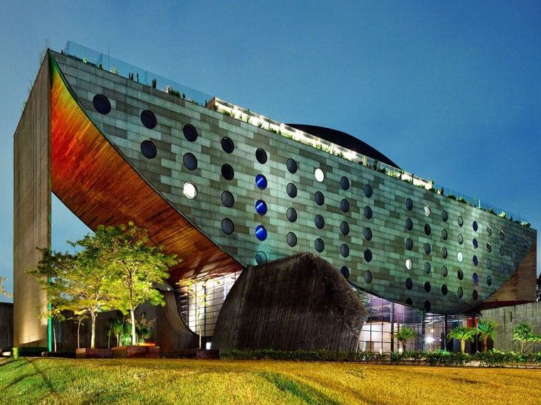 This luxury hotel in Brazil that looks like Noah's ark