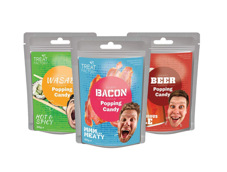 These candies that taste like 🥓 and 🍺 and 🍣