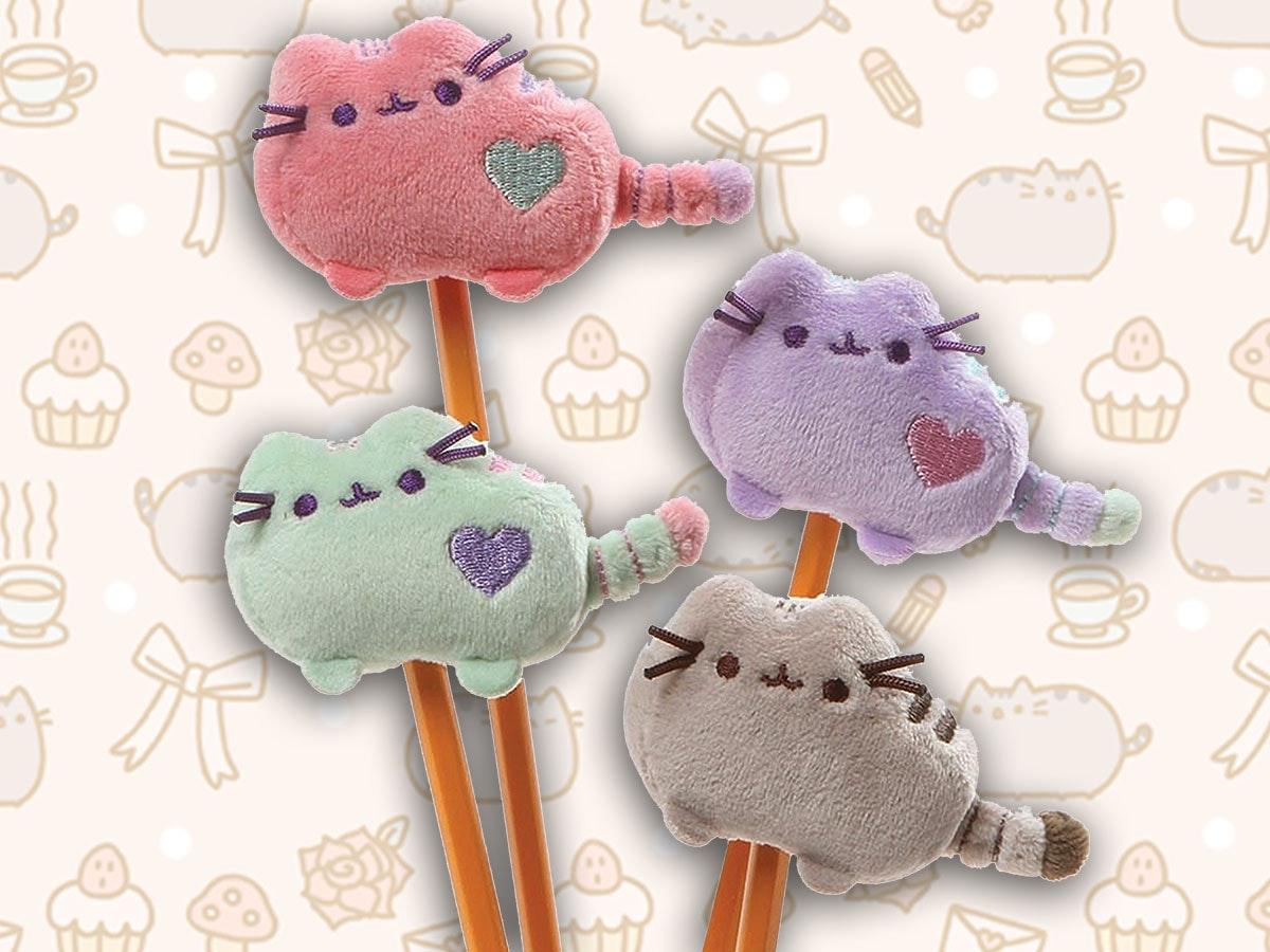 These Cute Kitties To Keep Your Pencil Company. 1. Pusheen Corp Via Amazon