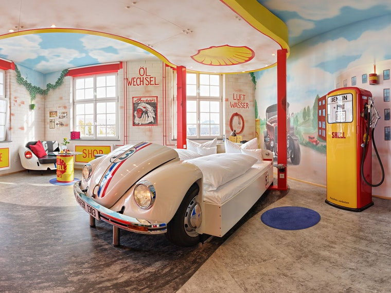 The ultimate German hotel for car lovers