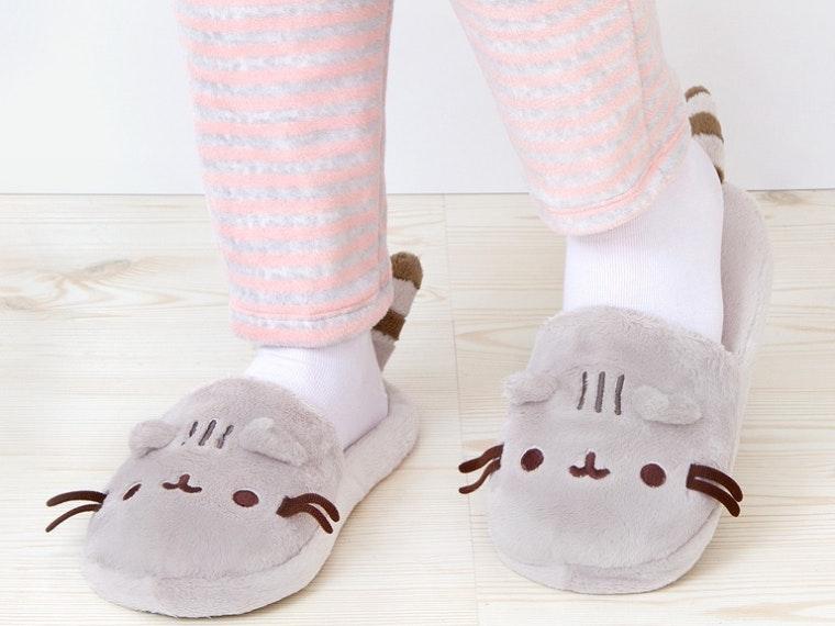 Thispair of purr-fect slippers