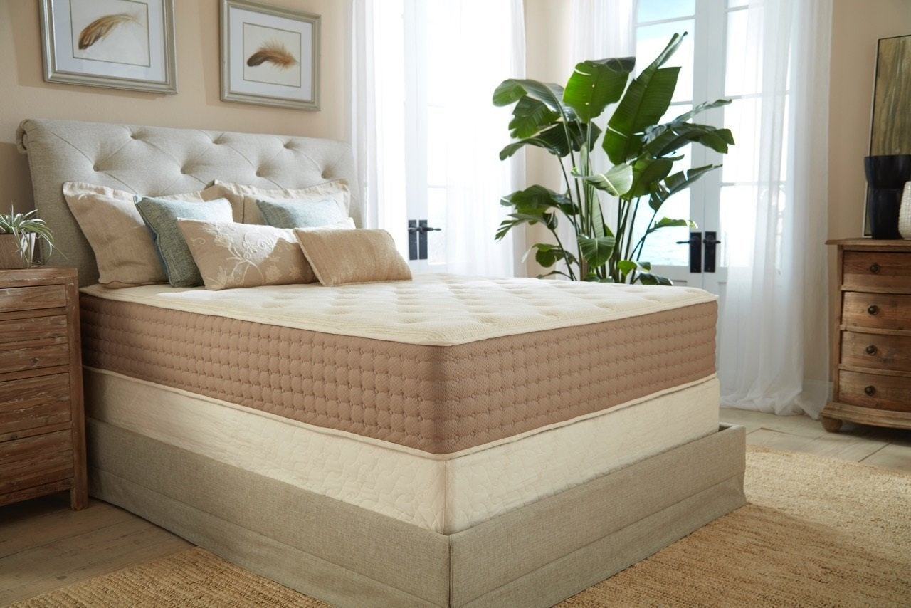 This eco-friendly, chemical-free mattress