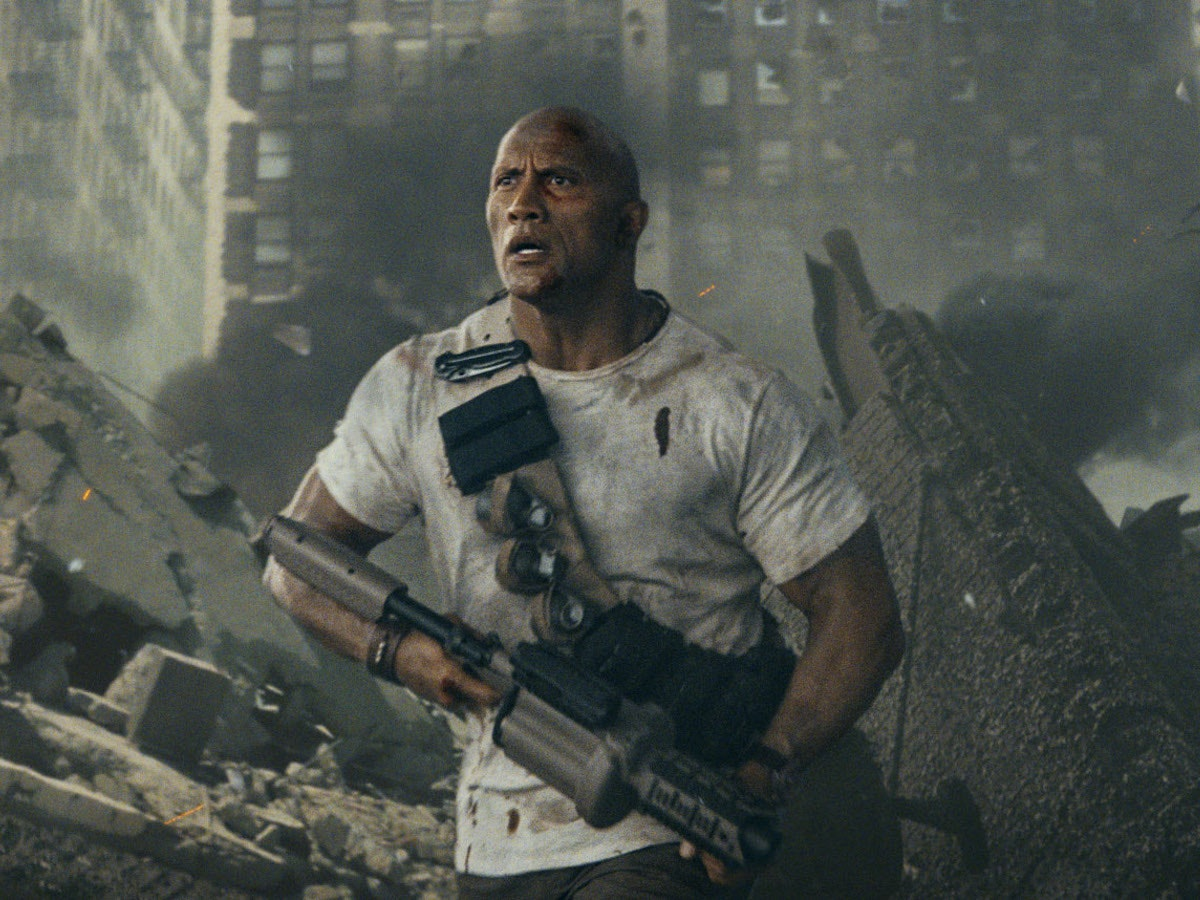 The Rock Has a New Movie and We Have Questions