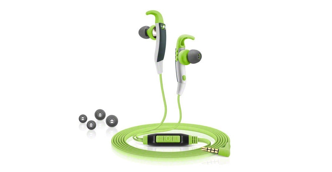 Antibacterial headphones for the sweatiest workouts