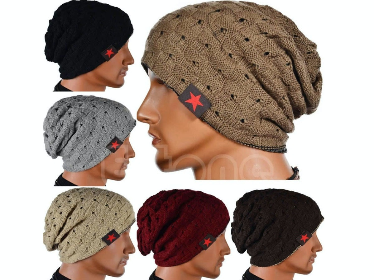 This reversible beanie to keep your head warm all winter